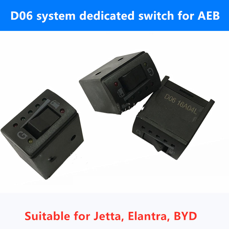 LPG/CNG Auto Gas Accessories Switch Special Switch D06 System Gas Switch For AEB System