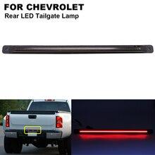 цена на 1Pcs LED Smoked Third Strobe Brake Light Lamp Rear LED Tailgate Red For CHEVROLET Silverado 2500 3500 GMC Sierra 2500 3500 HD