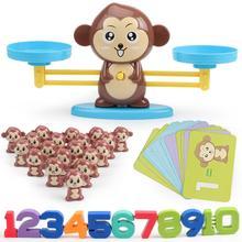Scale-Toys Balance Game-Board Gifts Monkey Math Plastics Kids Children Cartoon Educational