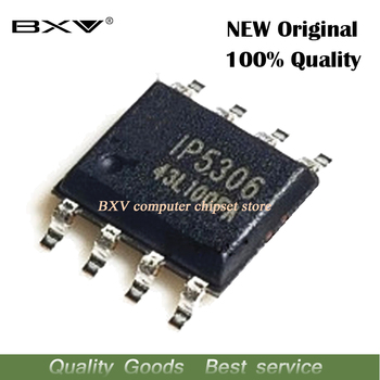 IP5306 SOP8 2.1A charge / 2.4A discharge high integration mobile power chip new ic - discount item  9% OFF Active Components