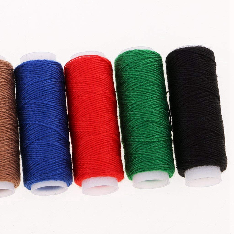 10pc black Jeans shoes bags thread real strong thick Sewing thread Spools thread