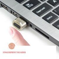 ミニ USB 指紋リーダーモジュールデバイス認識 windows 10 ハローバイオメトリックセキュリティキー 360 タッチ -
