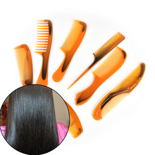 Break Not Hair Brushes Antistatic Rat-tail Combs Hair Styling Tool 7 Type Elastic Soft Message Head Hair Comb(China)