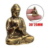 Buda estátua do budismo chinês sakyamuni buda escultura estátua fengshui ornamento em miniatura decoração de casa|Estátuas e esculturas| |  -