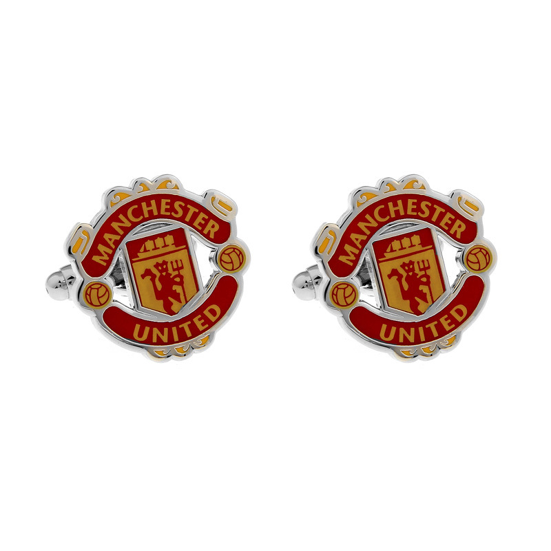 SS UK England Manchester Football Club Cufflinks for Men