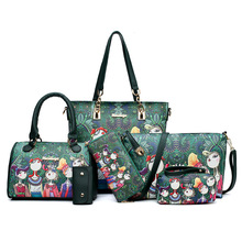 New Kind of Womens Bags Hot Selling Fashion Printed Bags, Mother Hydraulic Handbags, Shoulder Slant Wholesale kipde