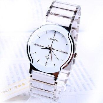 שעון אנלוגי קרמיקה 2020 לאישה