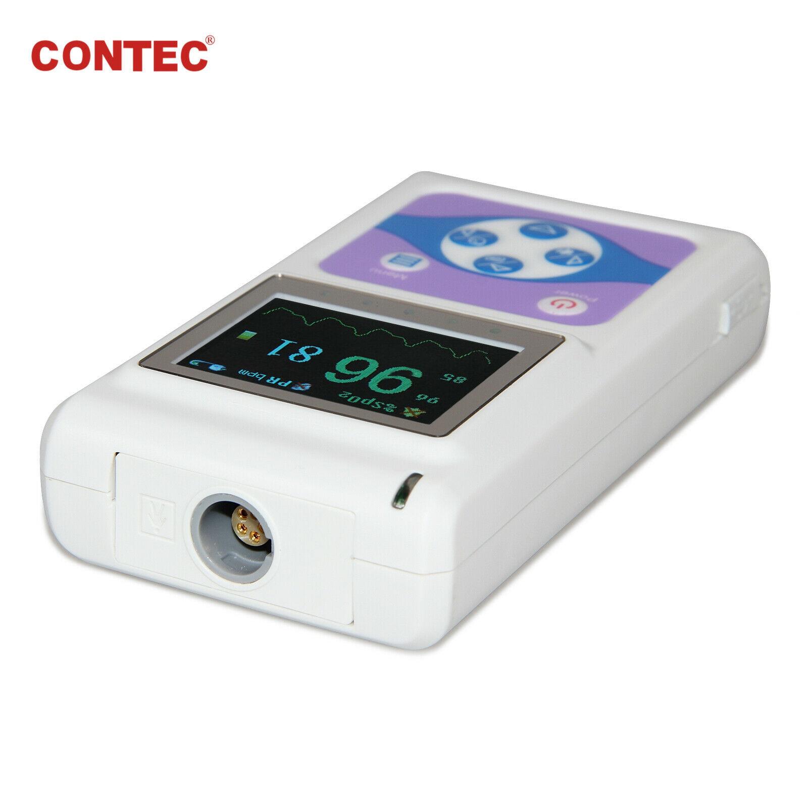 24h Finger pulsoximeter SpO2 Herz Rate Monitor + 3 sonden Erwachsene/kinder, alarm oximetro de dedo oximeter daten - 2