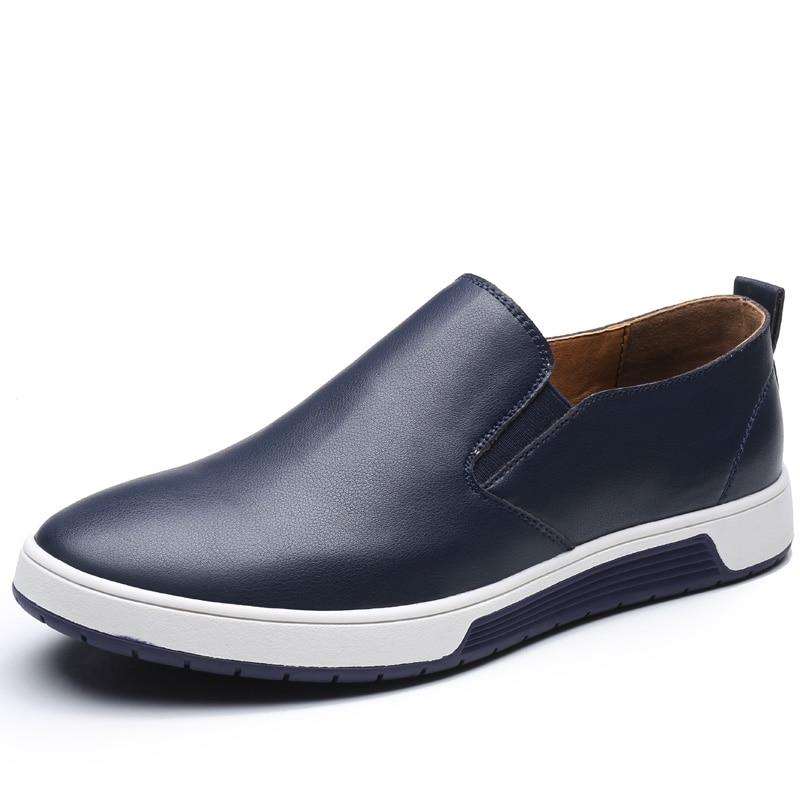 blue Slip-On