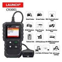 LAUNCH X431 CR3001 Creader 3001 OBD2 Scanner Automotive Car Diagnostic Check Engine Light O2 Sensor System Code Reader Scan Tool
