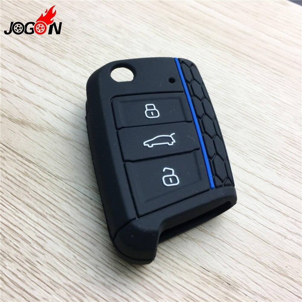 lowest price Carbon fiber Silica gel Car Key Case Protector Cover For Audi A3 A4 A5 A6 A7 A8 B6 B7 B8 R8 Q3 Q7 TT Car Folding Key Accessories