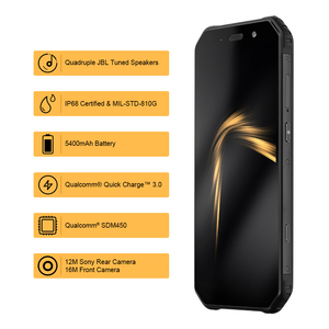 Image 2 - AGM A9 5.99 inch 18:9 Rugged IP68 Cellphone Qual comm Octa Core Smart Phone 4GB+64GB Waterproof Mobile Phone Quick Charge 3.0