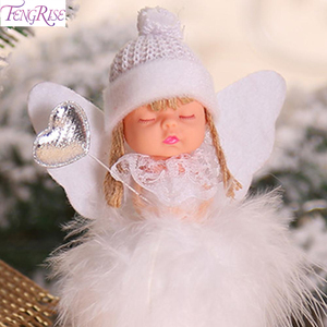 Angel Doll Merry Christmas Decoration For Home 2020 Navidad Noel Christmas Ornaments Xmas Tree Decor Cristmas Gift New Year 2021
