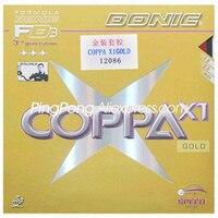 DONIC COPPA X1 GOLD Tischtennis Gummi Original DONIC COPPA X1 GOLD Ping Pong Schwamm-in Tischtennisschläger aus Sport und Unterhaltung bei