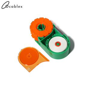 Image 4 - 5 Pcs/Lot Fiber end face cleaning box fiber wiping tool pigtail cleaner cassette fiber cleaner