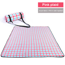 Picnic & Beach Blanket Handy Mat Plus Thick Dual Layers Sandproof Waterproof Padding Portable for the Family, Friends, Kids