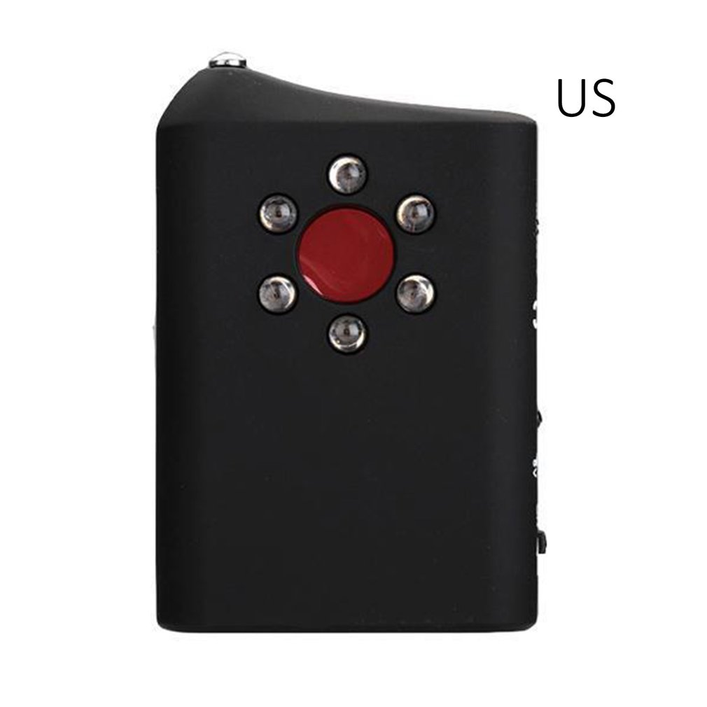 1 PCS Multi Function Bug Camera Signal Detector Finder Anti-Spy RF/LENS Detector For Wireless GPS Signal Hidden Mini Camera Lens