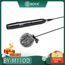 BOYA BY-M11OD BY-M11C Professional Lavalier Microphone System for Interview Film Theater Stage Audio Recording Mic for iPhone finlemho neodymium speakers for line array speaker home theater professional audio de400 44mm voice coil stage studio audio