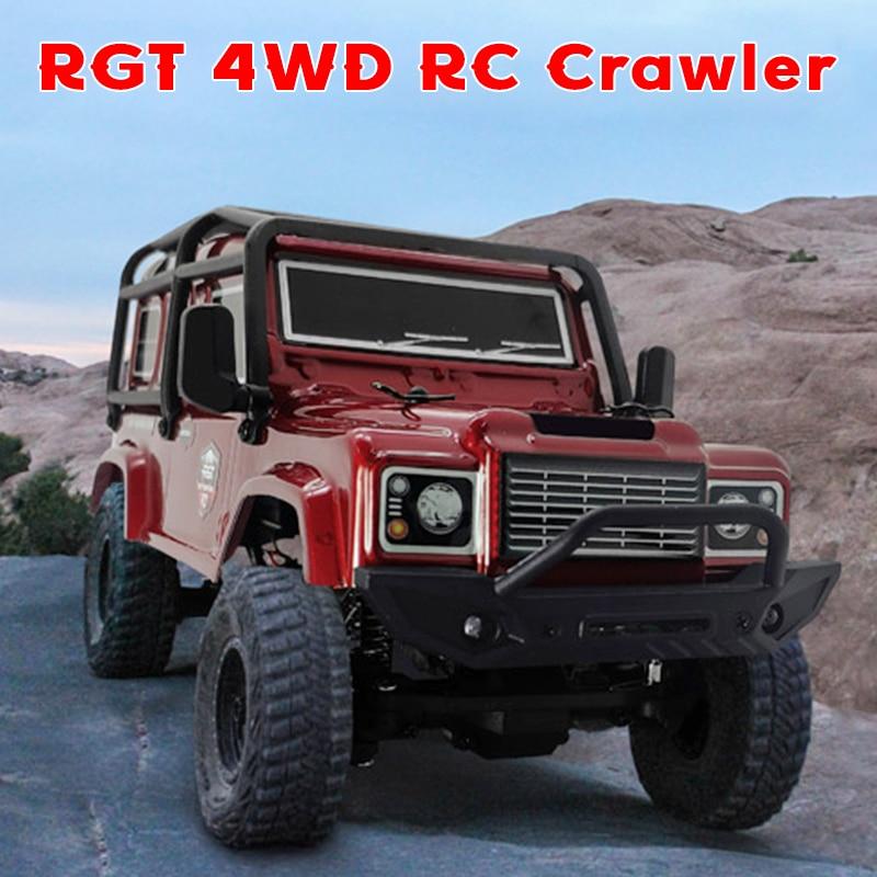 RGT 136240 RC автомобиль V2 1/24 2,4G 4WD 15км/ч радио Управление RC Рок Гусеничный дорожными автомобилями Багги Off-модель дорожного транспортного средств...