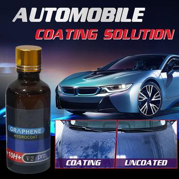 Powłoka ceramiczna samochodu szkło Nano Super hydrofobowy samochód poszycie anty-zarysowania grafen poszycie rozwiązanie Anti-Scratch środek utwardzający tanie i dobre opinie CN (pochodzenie)