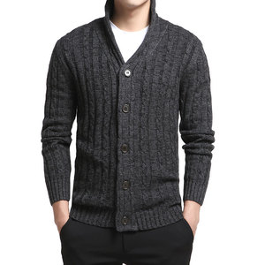 Knitted Cardigan Men 2020 Autumn Winter Soft Warm Sweater Men Classic Casual V-Neck Cardigan Masculino with Button Men Clothing