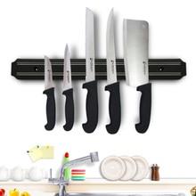 Leokk Magnetic Knife Bar Storage Strip Holder for Kitchen Office Garage Workshop