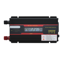 3000w 12V/24v Intelligent Solar Power Car Inverter Modified Automotive Electronic Parts Sinewave Converter with LCD Display