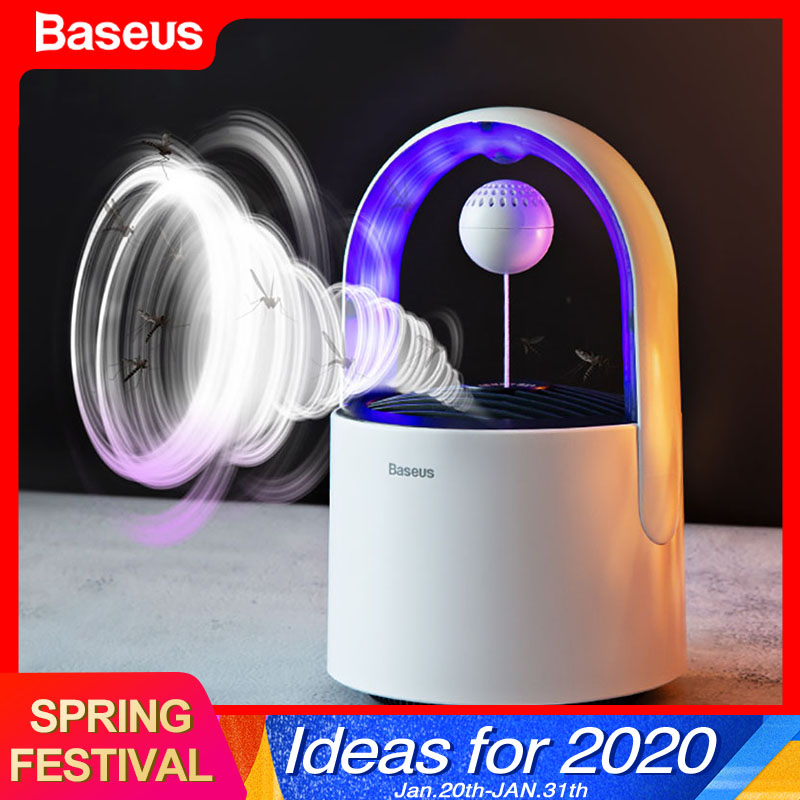 Baseus USB Lantern UV Light Mosquito Killer Lamp LED Electric Insect Trap Lamp Bug Zapper Killing Lamp Anti Mosquito Repellent