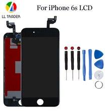 Qualité AAA pièces de rechange LCD pour iPhone 6 s écran tactile daffichage à cristaux liquides pour iPhone 6 s 4.7 numériseur complet assemblée blanc
