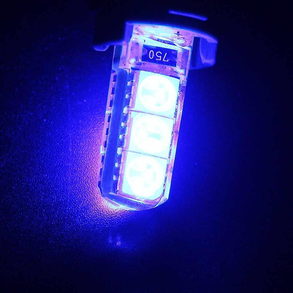 10 ピース/ロット白 T10 PCB 5050 6 SMD LED W5W 194 921 シリカストロボウインカーライトサイドマーカー電球ダッシュボードライト Dc 12V