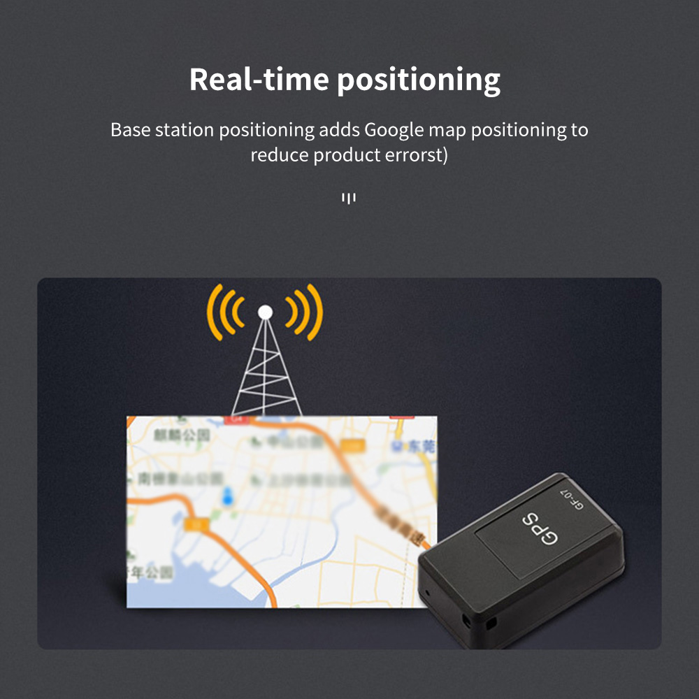 Mini Rastreamento Rastreador Controle Anti-perdido Gravação Veículo Localizador Anti-roubo Crianças Gps App