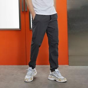 Image 2 - Pioneer calças casuais masculinas, calças casuais masculinas de algodão slim fit, roupas de marca para homens, verão 2020 axx901001