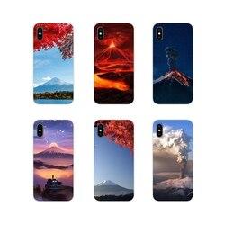 Чудеса природы вулкан аксессуары чехлы для телефонов Чехлы для Samsung Galaxy A3 A5 A7 A9 A8 Star A6 Plus 2018 2015 2016 2017
