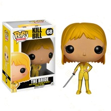 FUNKO POP Kill Bill PVC Action Figures Collection Model Toys for Children Birthday Gift 2017 funko pop batman action figure toys plastic vinyl figures desk toys birthday christmas gift for kids children