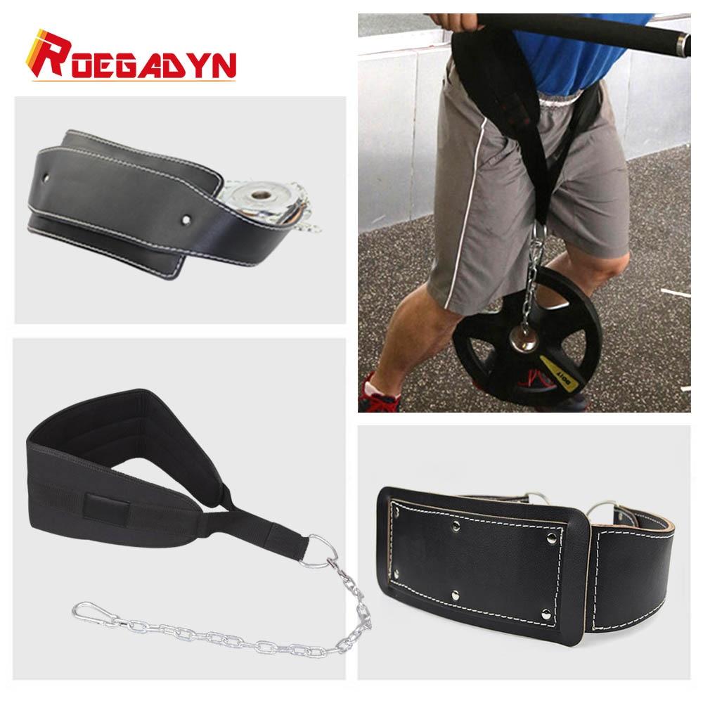 Gym Weight Lifting Belt Waist Back Support Strap Power Training.