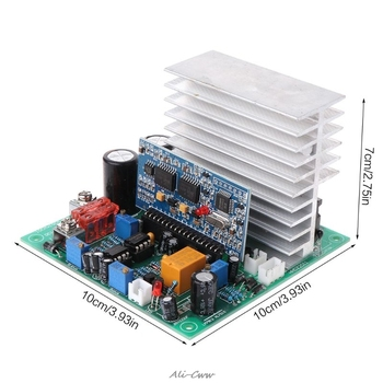 Pure Sine Wave Power Frequency Inverter Board 12/24/48V 600/1000/1800W  Finished