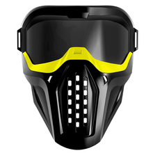 ABKT Mask Protective Eyeglass for Nerf Blaster Out Door Games Yellow