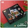 LOZ Blocks DIY Building Bricks Cute Christmas Set Toys for Children Juguetes Santa Claus Kids Gifts Girls Present New Year 1223