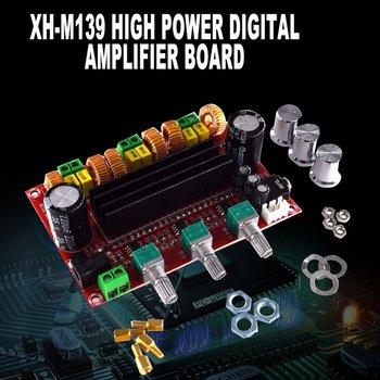 302B 2.1 Channel High Power Digital Power Amplifier Board Tpa3116D2 Power 2*80W+100W Digital Power Amplifier Board assembled l150w fet power amplifier board power supply board 2 1