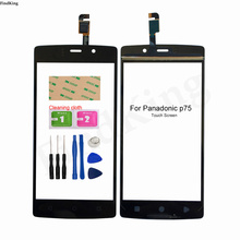 5.0''Touch Panel For Panadonic P75 Touch Screen Digitizer Front Glass Lens Sensor P75 Panel Replacement Part