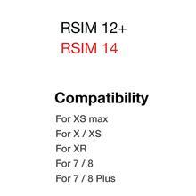 R-SIM14 идеальная разблокировка RSIM Nano разблокировка карты R-SIM14 X Ultra ICCID SIM RSIM sim-карта R-SIM 14 R SIM 14 для всех моделей