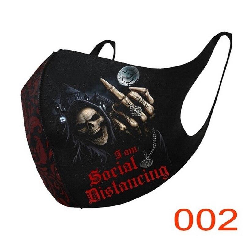 Несексуальная дышащая модная Ветрозащитная маска для лица для косплея, езды на велосипеде, шарф для лица, маска для рта