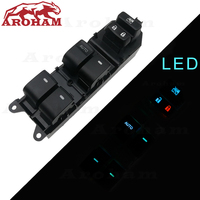 Lighted Power Window Switch for Toyota Yaris Camry Tacoma Lexus Highlander Land Cruiser Venza rav4 2006 2015 84820 06100 LED