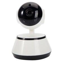 цена на 720P HD Wireless Wifi IP Camera Home Security Surveillance Cam 3.6mm Lens Night Vision Wide Angle Indoor Camera