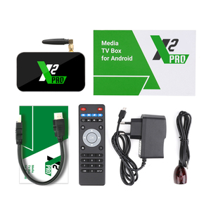 Image 5 - X2 Pro TV Box Android 9.0 4GB RAM 32GB Smart TV Amlogic S905X2 X2 cube 2GB 16GB décodeur 2.4G/5G WiFi 1000M 4K lecteur multimédia