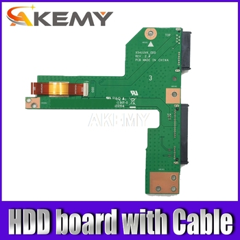 Akemy Original For Asus X541U X541UA X541UAK X541UV X541UVK X541UJ F541U HDD board Connecting line with Cable akemy x556uv rev 3 1 x556uj rev 2 0 hdd board for asus a556u f556u k556u fl5900u r556u vm590u hard disk board 100