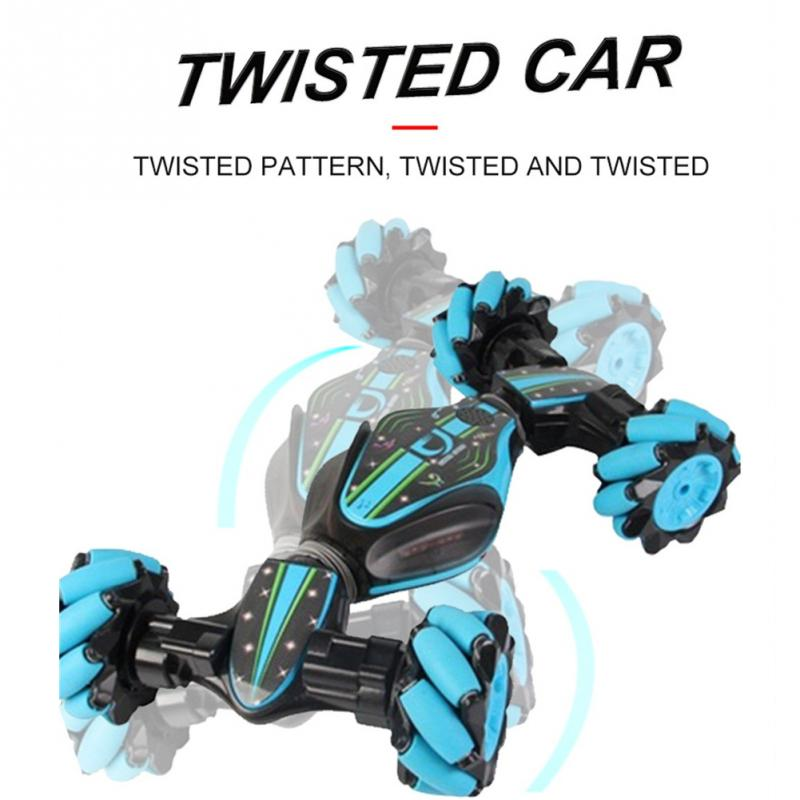 Remote Control Stunt Car Gestures Induction Twisting Off-road Vehicle Music Drift Dancing Party Driving RC Toy Gift For Children