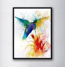 Настенная Картина на холсте пчела собирание цветов декоративные