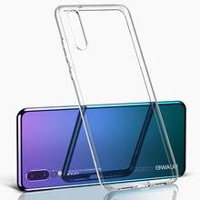 Coque arrière souple transparente en TPU pour Huawei, compatible modèles Mate 20 Lite/Pro, P20 Lite, Honor 8X max, 8C, 10, 9 Lite, 6X, 7X, Nova3i