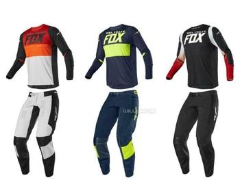 Hot Selling Delicate Fox 2020 Motorcycle Racing 360 Bann Jersey Pants Motocross Dirtbike Offroad Gear Set Suit